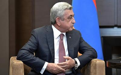 President of Armenia Serzh Sargsyan.