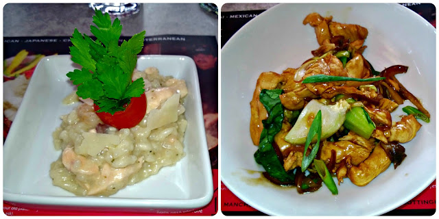 Red Hot World Buffet Seafood Risotto and Chicken Teppenyaki