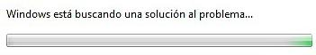 Windows: está buscando una solución al problema... deshabilitar
