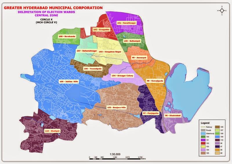 GHMC Circle 10 Map