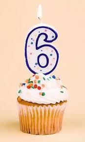 Sexto aniversario: seis años a vuestro lado