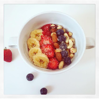 Porridge Bowl au chocolat blanc ! Mon choix pour la Bataille Food N° 57