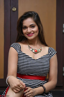 Ashwini in Spicy Short Deep Neck Dress at Pelliki Mundu Prema Katha Trailer Launch Exclusive  08.JPG