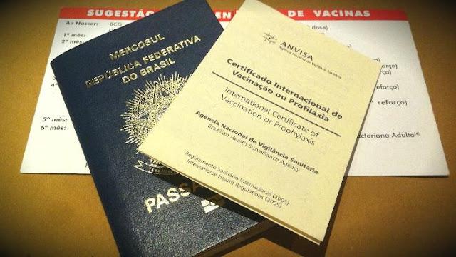 Certificado Internacional de Vacinação para os Estados Unidos