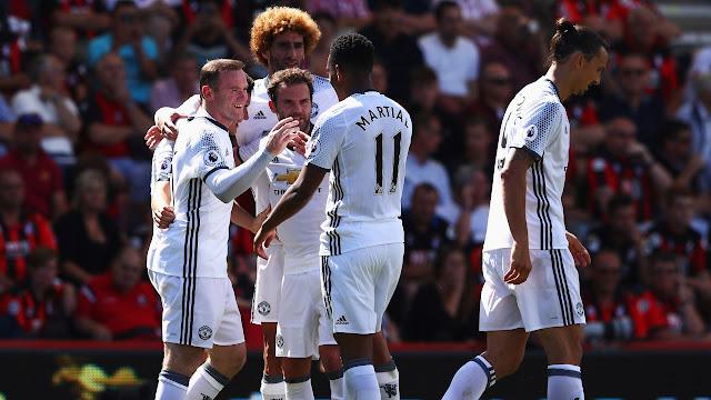 Hasil Klasemen Liga Inggris: Manchester United Era Mourinho Jadi Pimpinan Sementara