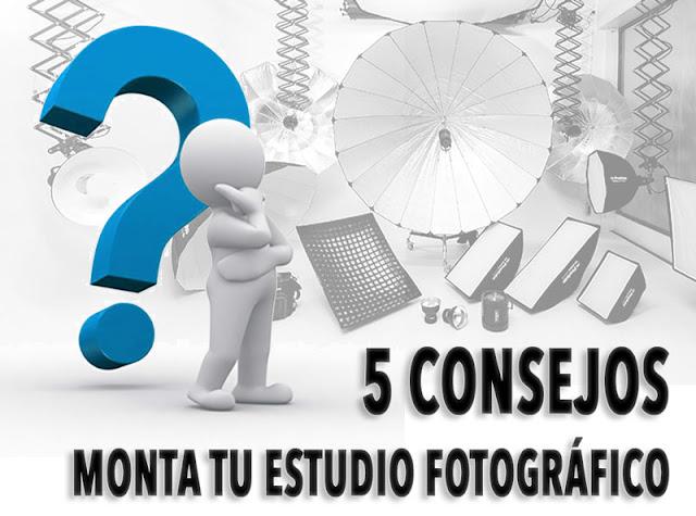 5 consejos para montar un estudio fotográfico