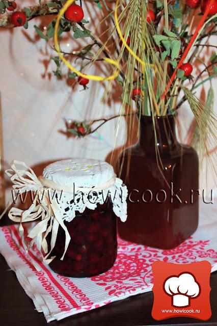 рецепт вкусной вишни на зиму