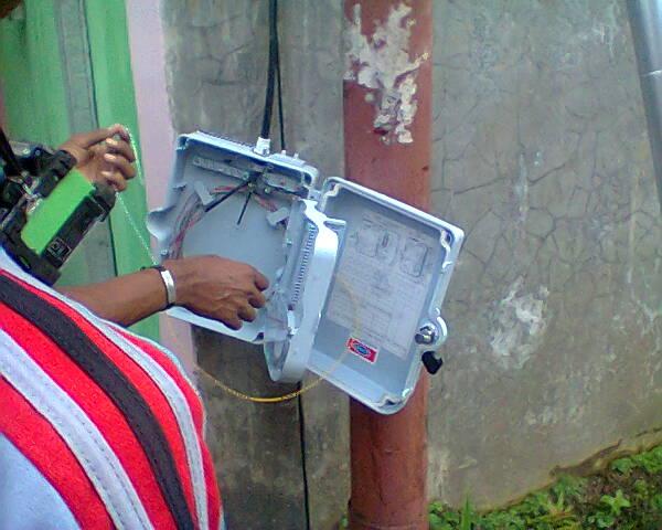 Membantu Teknisi mengatasi ODP Yang Los Dan Mengganti Kabel FO Utama Yang Menuju BTS - Gateway Ilmu
