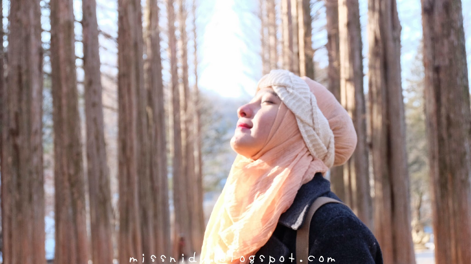 hijab traveler goes to south korea