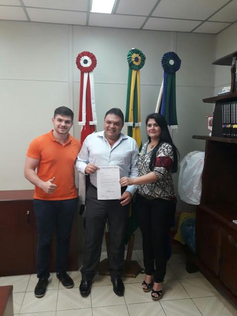 Deputado Marcos Damasio pleiteia veículo para Jacupiranga