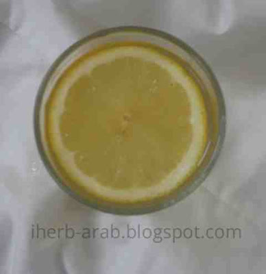 عصير تجربة العسل والليمون