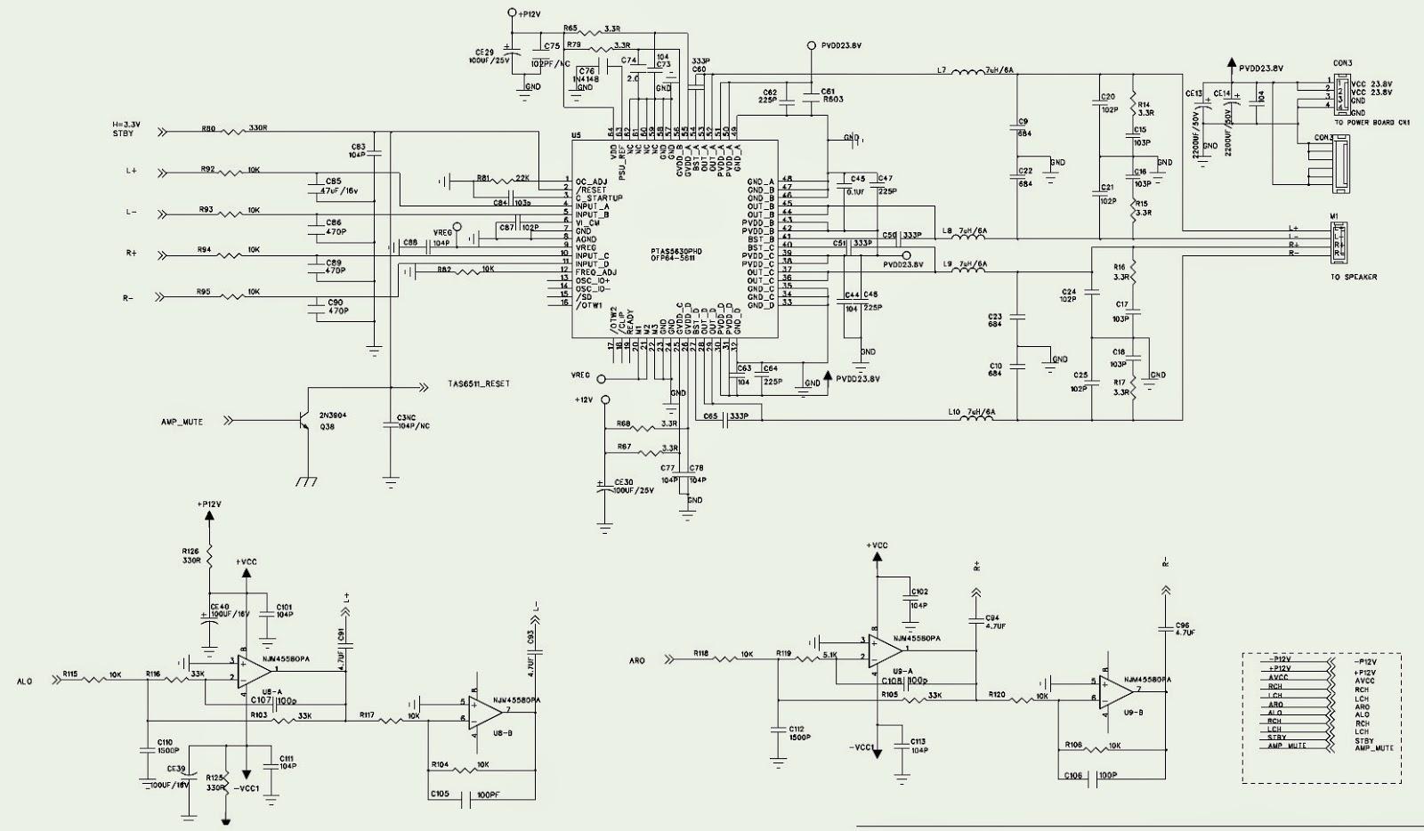 Philco Mini System Ph400n Schematic