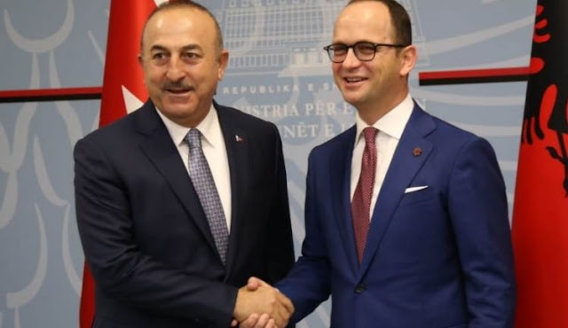 Mevlut Çavusoglu in Tirana: we aim FETO institutions closing in Albania and members to be extradited in Turkey
