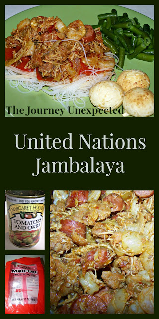 United Nations Jambalaya - Gluten Free - Basque, Polish, West African, Southern, and Asian Fusion Recipe