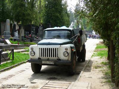 GAZ 53, Cmentarz Łyczakowski we Lwowie