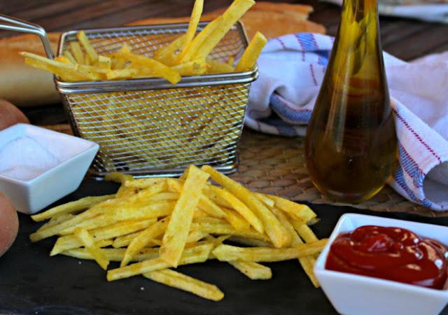 Patatas fritas super crujientes