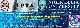 ADVANCE PROFESSIONAL DIPLOMA IN FORENSIC ACCOUNTING AND FRAUD INVESTIGATION PROGRAMME\ IICFIP CERTIFICATION PROGRAMME IN NDU-UPTA