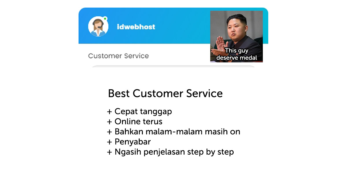 Customer Service IDwebhost