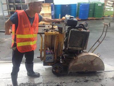 Khoan cắt bê tông tại huyện Hòa Bình