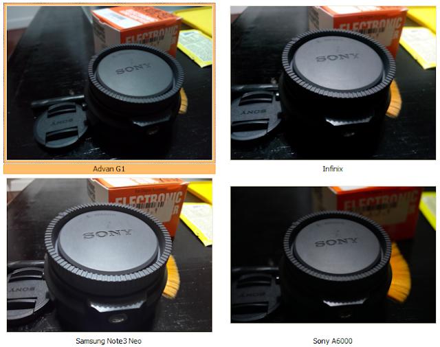 Perbandingan hasil foto kamera smartphone Advan G1 dengan 2 smartphone dan 1 kamera mirrorless