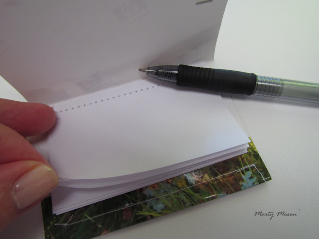 book-style note booklet