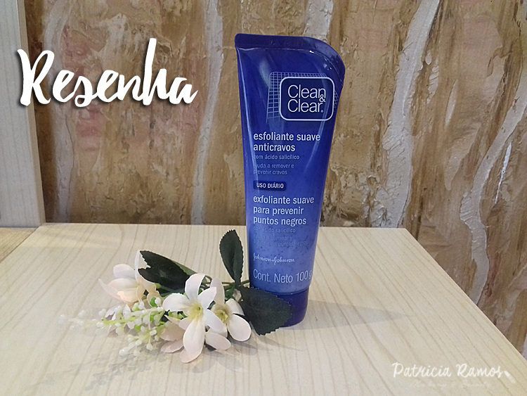 Esfoliante Facial Anti Cravos Clean & Clear