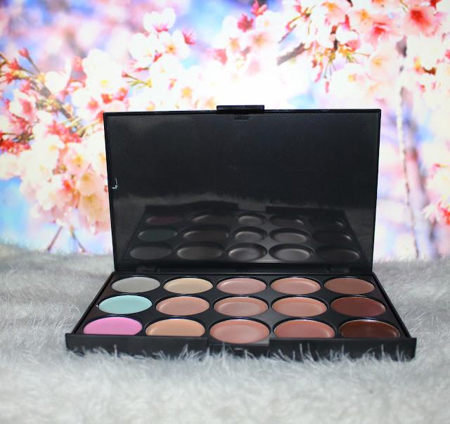 Concealer Palette & Eyeshadow Palette