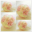 Handbouquet | Pink + Cream + Peach | With Love to Sabah