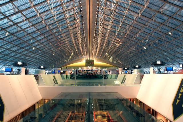 Aeroporto Chares de Gaulle em Paris