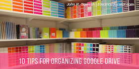 10 Tips for Organizing Google Drive