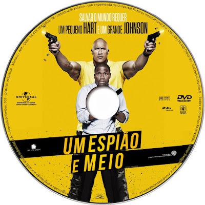 Label DVD Um Espião E Meio