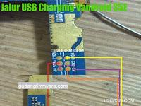 Jalur USB Charger Advan S5E Trick Jumper 100% Sukses