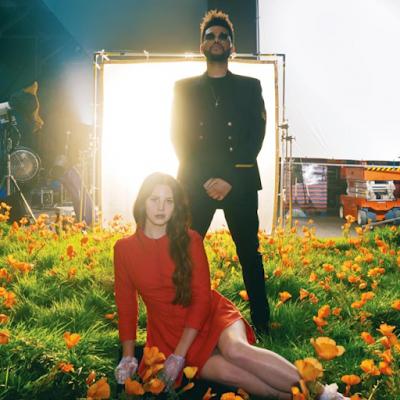 Capa do single Lust for life, colaboração de Lana Del Rey com The Weeknd