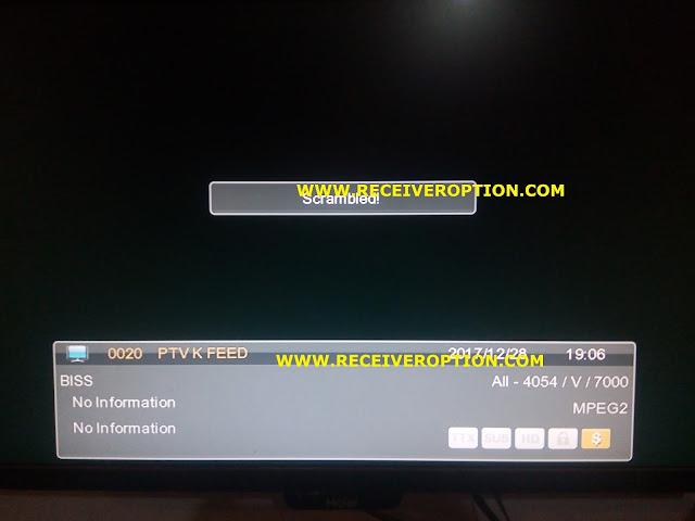 E-SAT HD BOX A300 RECEIVER BISS KEY OPTION