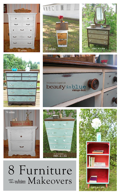 Eight Furniture Makeovers for a Friend | Denise on a Whim