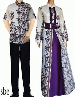 Baju Batik Couple Model Baru