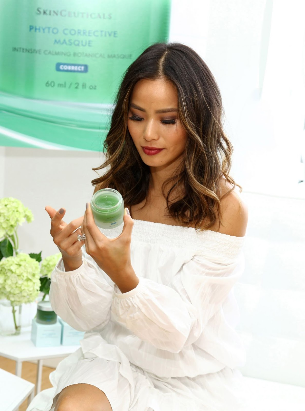 Jamie Chung at Skinceuticals Skincare Event in Los Angeles