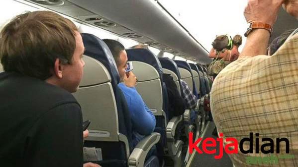 Heboh Cewek Bawa Babi kedalam Pesawat