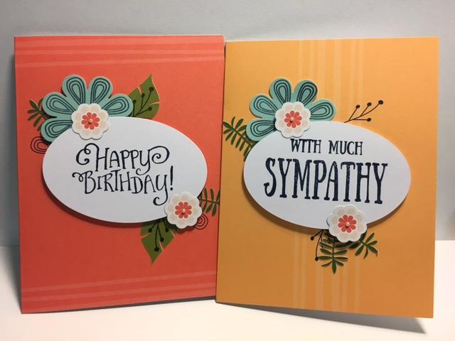 August 2017 Paper Pumpkin, Birthday Card, Sympathy Card, Happy Birthday  Gorgeous