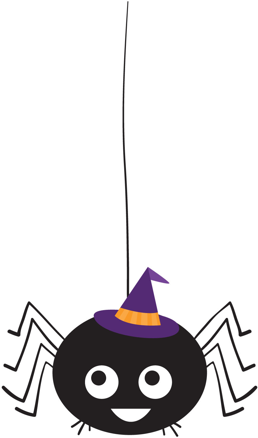 Halloween Spiders Clipart. | Oh My Fiesta! in english