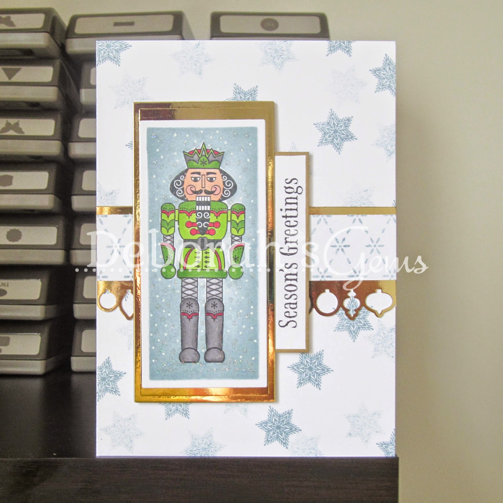Seaon's Greetings sq - photo by Deborah Frings - Deborah's Gems