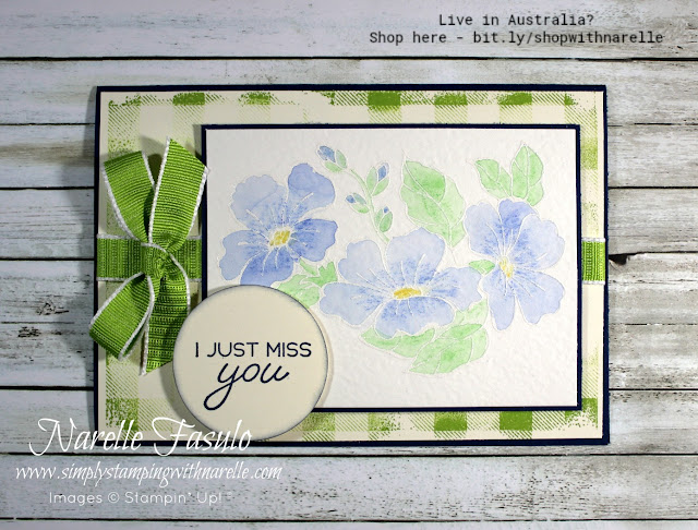 Create pretty cards with one stamp set that covers all seasons. But be quick, it's only available until the end of August 2018. See it here - http://bit.ly/ColourYourSeasonbySU