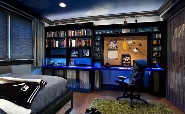 Desain minimalis kamar tidur anak laki-laki