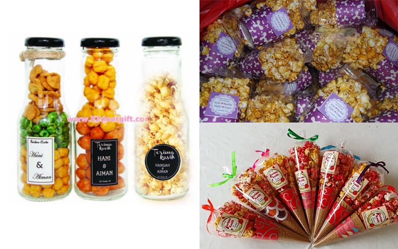 Contoh Door Gift: Pakej Bisnes Mesin Popcorn