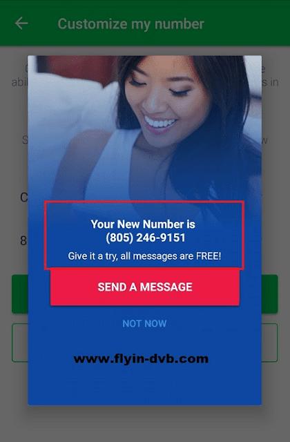 Mendapatkan nomor telepon AS