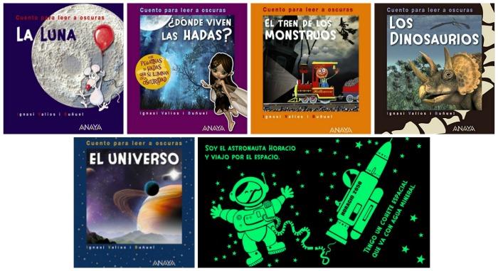 fomentar lectura con cuentos sorprendentes para leer a oscuras: colección cuentos para leer a oscuras, ignasi valiós, editorial Anaya