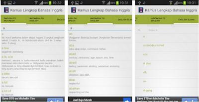 Download Aplikasi Kamus Bahasa Inggris - Indonesia Offline Untuk Hp Android