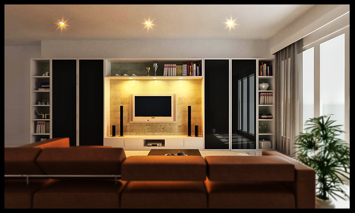 Desain Modern Ruang Keluarga Minimalis  Rumah Minimalis 2014