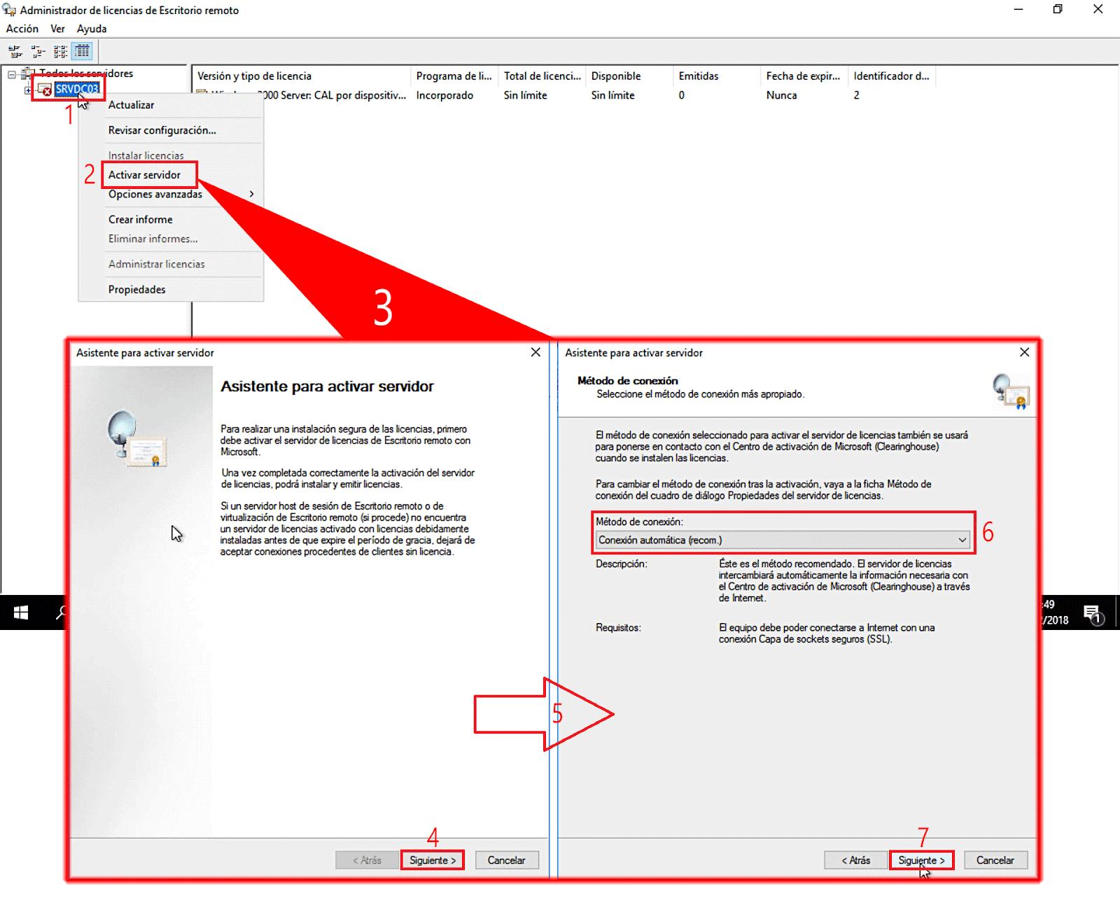 Windows server 2016 activar servidor de - Activar escritorio remoto windows xp ...