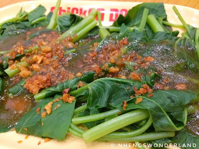 Chicken Deli - Binagoongang Kangkong